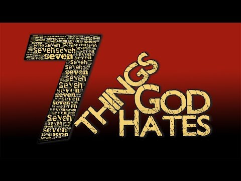 7thingsGOD hates